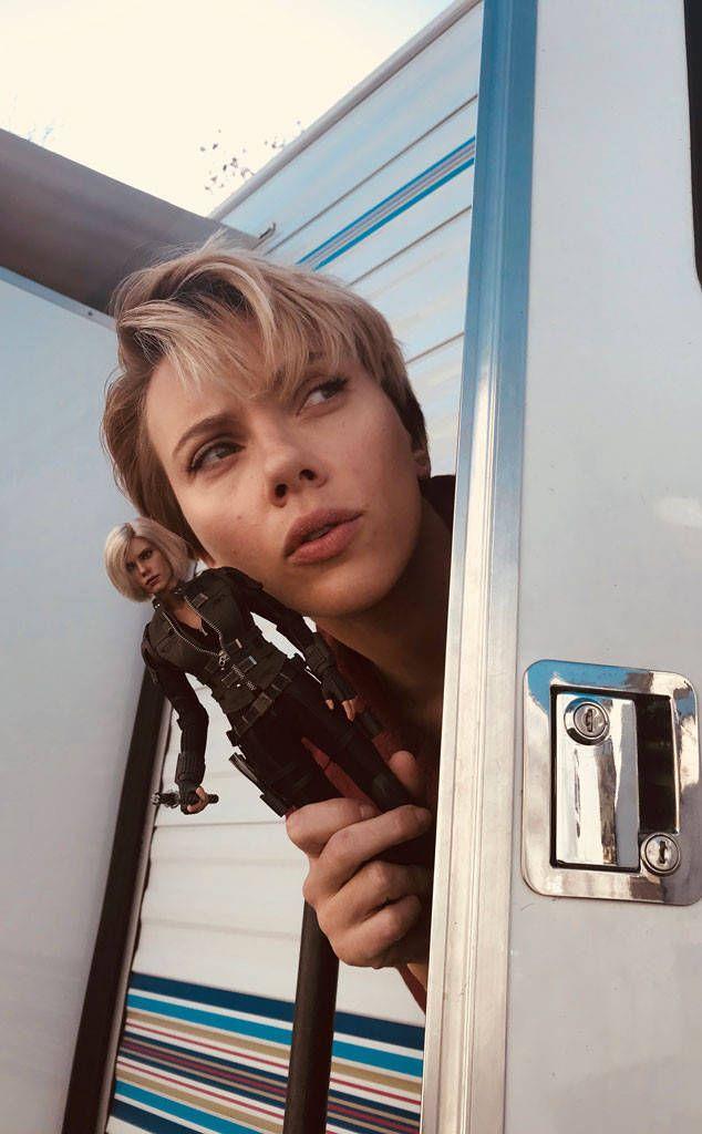 Scarlett Johansson Reveals New Black Widow Figure in Support of Children's Charities