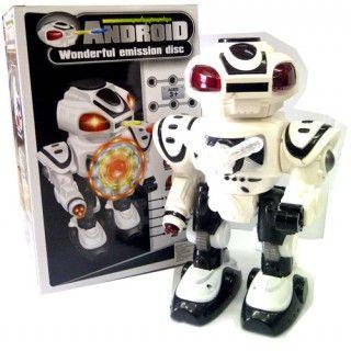 ROBOT ANDROID PUTIH ROBA36 - http://jualmainanbagus.com/boys-toy/robot-android-putih-roba36
