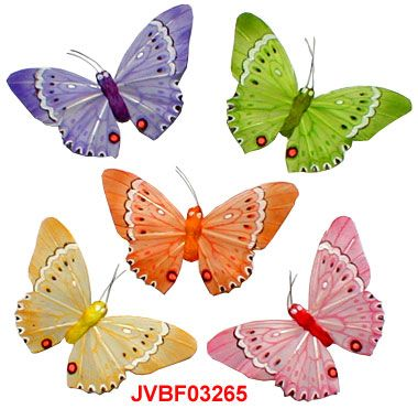 94 best images about artificial butterflies on pinterest for Synthetic feathers for crafts