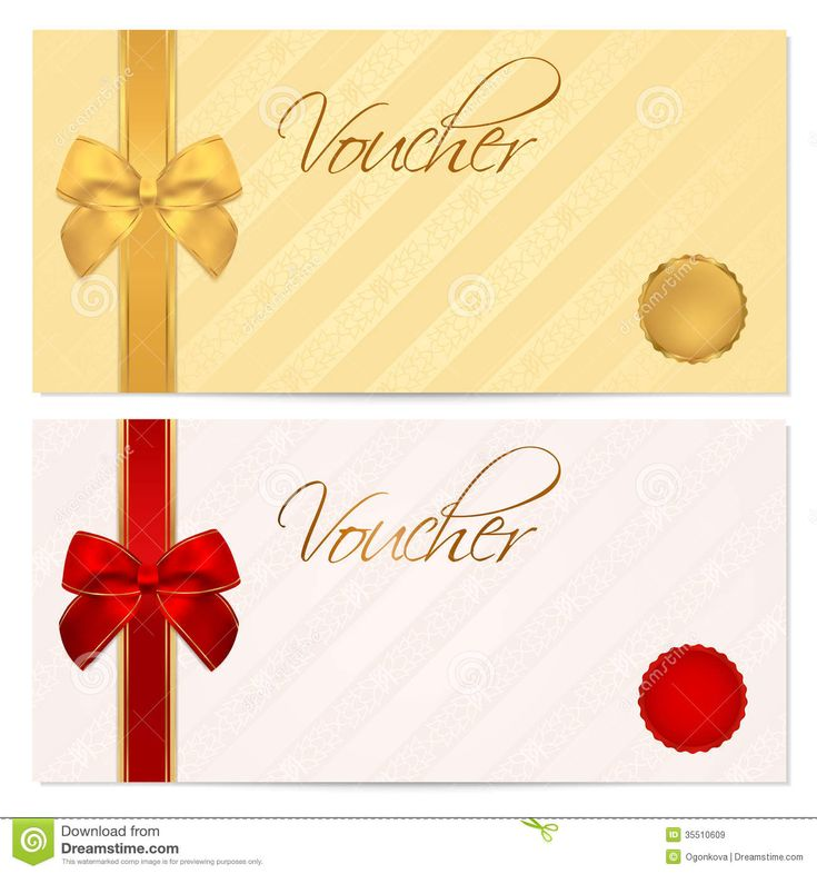 23 best gift certificates images on Pinterest Free printable gift - Free Christmas Voucher Template