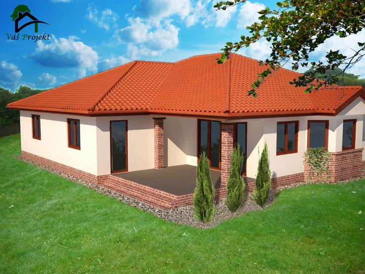 bungalov lorinčík / bungalow / projekt of house