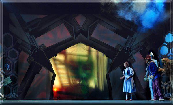 wizard of oz set design by richard finkelstein stage