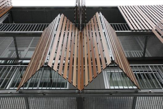 Trespa Meteon: Placas Wood Decors para edificaciones