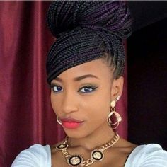 1000 Ideas About African American Braids On Pinterest Braided Hairstyles Braids And African
