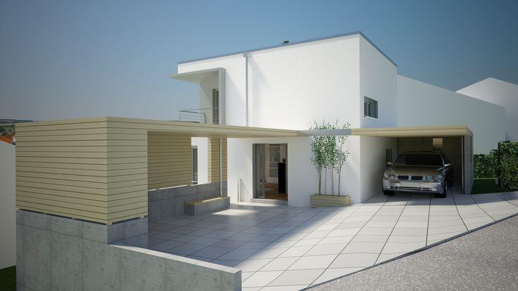 die besten 25 singlehaus ideen nur auf pinterest modernes bauernhaus au en zinkdach und. Black Bedroom Furniture Sets. Home Design Ideas