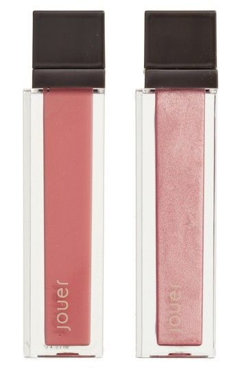 Free shipping and returns on Jouer Melon & Citronade Rose Long-Wear Lip Crème Liquid Lipstick Duo at Nordstrom.com. What it is: A weightless, long-wearing liquid lipstick in two beautiful full-size shades.What it does: It offers full-coverage color with a soft-touch finish that glides on smoothly and lasts all day.Shades include:- Melon (warm pink nude with matte finish)- Citronade Rose (ballet pink with metallic finish)How to use: Apply to clean lips. Start by lining your lips with the t...