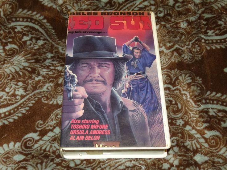 "Red Sun (VHS, 1986) OOP 1st Video Gems Charles Bronson/Toshiro Mifune ""Eastern""!"