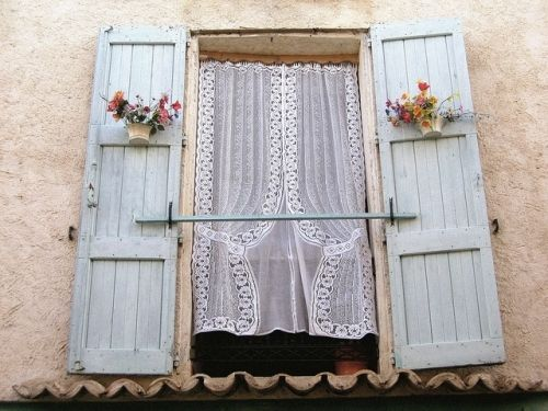 161 best images about home shabby chic lace curtains french country on pinterest. Black Bedroom Furniture Sets. Home Design Ideas