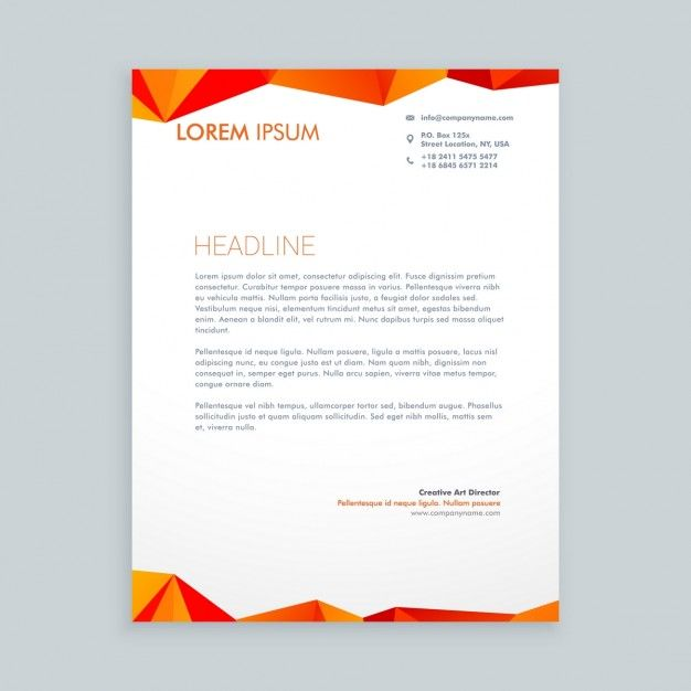 25 best Letterhead Templates For All Types Of Business images on - Best Free Letterhead Templates