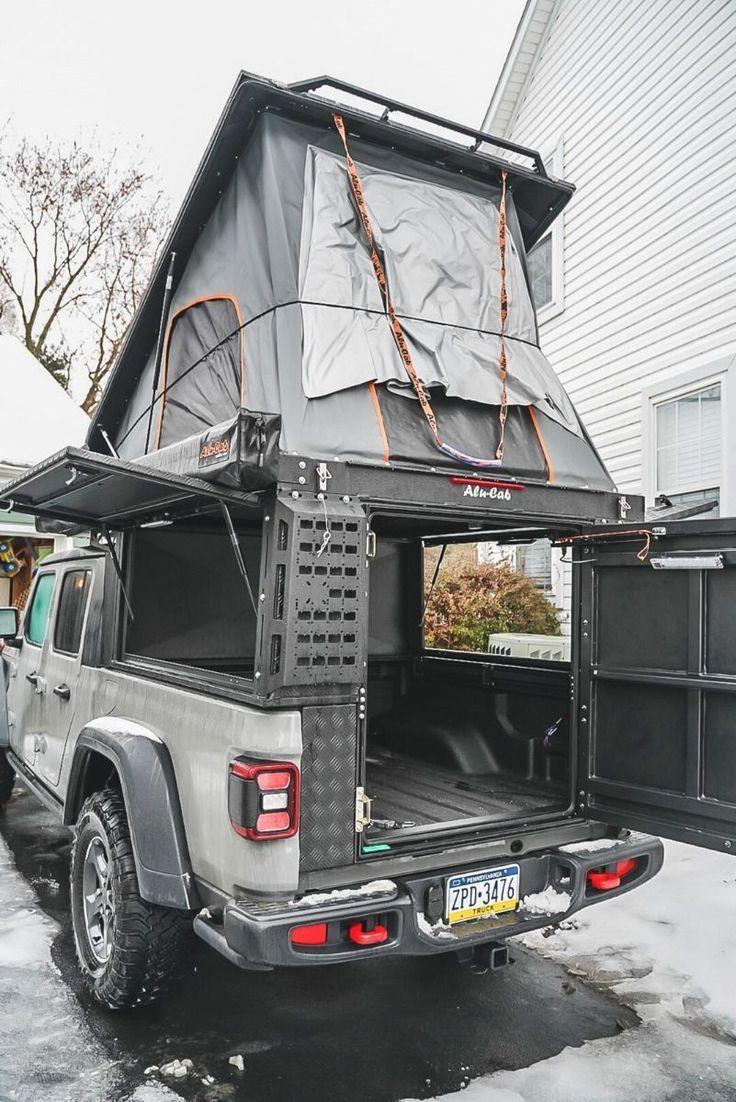 Alu Cab Canopy Camper For 2020 Jeep Gladiator Jeep Gladiator