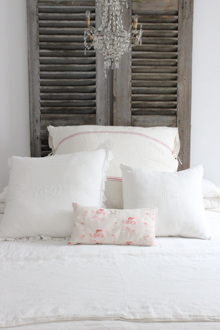 Patina style romantic bedroom - And This Is An Awesome Headboard Find This Pin And More On Romantic Style Bedrooms