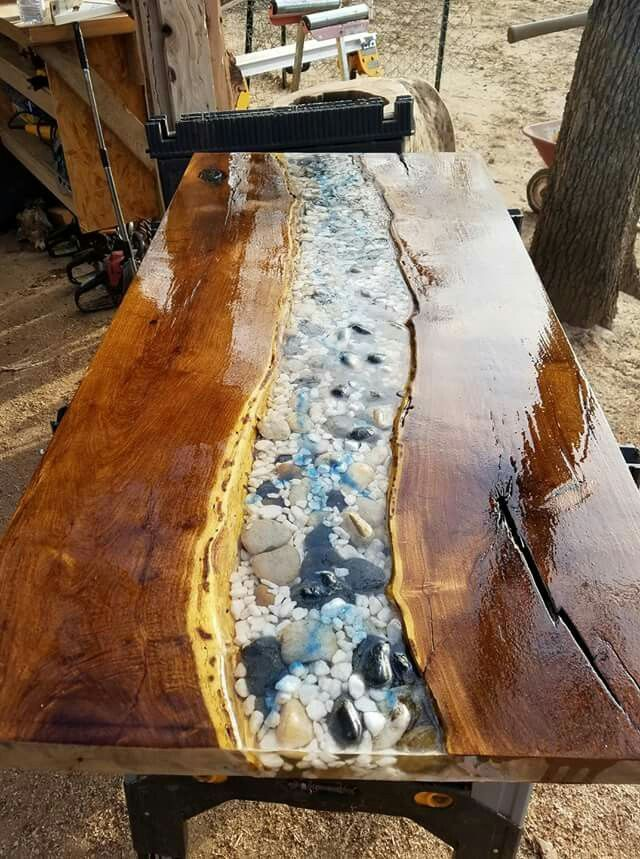 Amazing Resin Wood Table Ideas For Your Home Furnitures 09