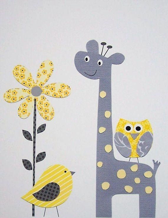 Girafa pássaro