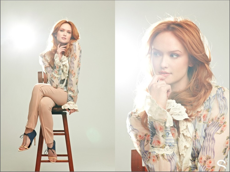 Gossip Girl's Kaylee DeFer in an exclusive Beauty High editorial