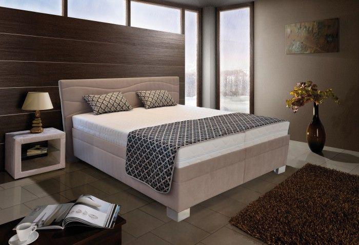 Kvalitní čalouněná postel Windsor od českého výrobce vám zaručí pohodlný a ničím nerušený spánek. Vyrábí se z kvalitního a odolného materiálu zaručující...