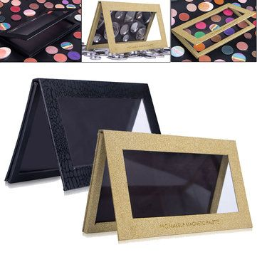 Magnetic Empty Makeup Palette Eyeshadow Blush Case Cosmetic Organizer