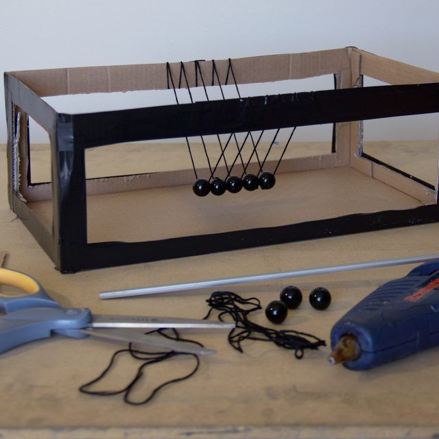 How to Build a Newton's Cradle