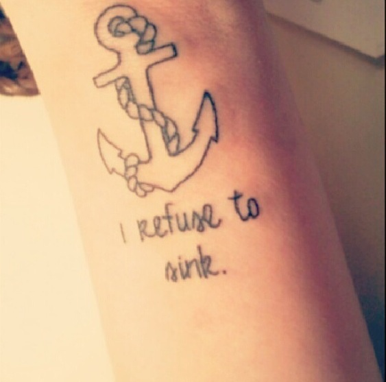 My Recovery Tattoo I Refuse To Sink I Wish To Fly: 17 Best Images About Recovery Tattoo On Pinterest
