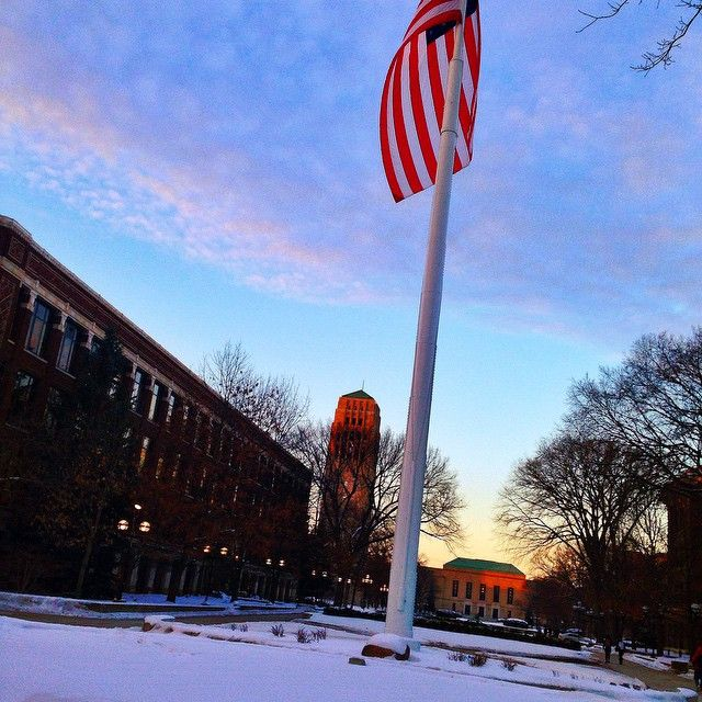 The epicenter of our beautiful campus.
