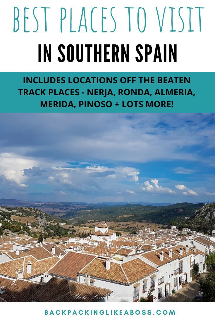 Southern Spain Road Trip Europe Travel Spain Road Trip Spain Travel Guide