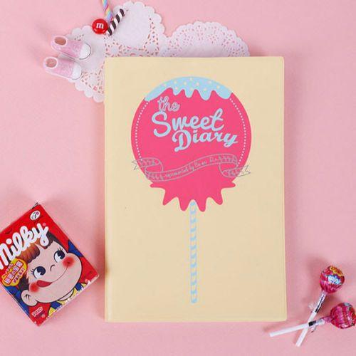 Sweet-Diary-planificador-Candy-Amarillo-Programador-Diario-Agenda-Notebook-Organizador