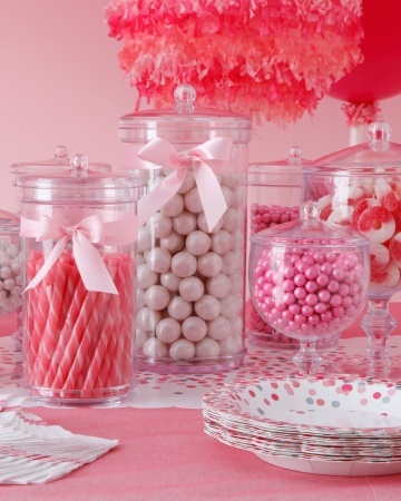 Candy Bar-Pretty in Pink, Cotton Candy Party