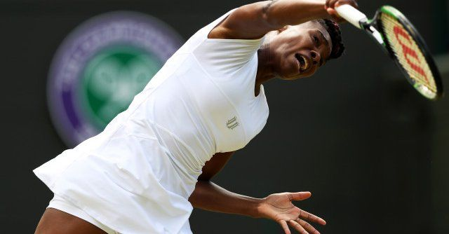 7/5/16 Via #johnnyrockies  ·   Venus Williams, Angelique Kerber reach Wimbledon semifinals: LONDON —  Via Wimbledon: Age is just a number -- At 36, Venus Williams is the oldest player to reach a Grand Slam semi-final since Martina Navratilova here at Wimbledon in 1994.