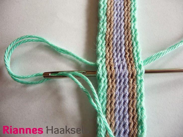 Rianne Hook Sels: Ply split braiding # 2
