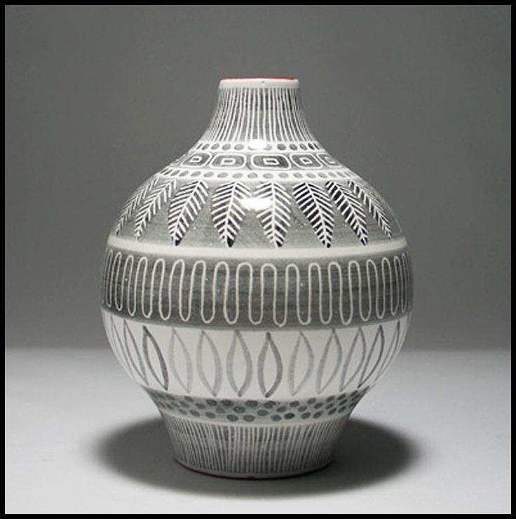 Upsla Ekeby vase by Ingrd Atterberg