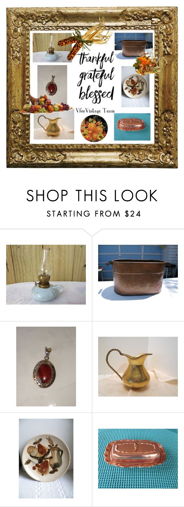 VforVintage - Thanksgiving by jamscraftcloset on Polyvore featuring interior, interiors, interior design, дом, home decor, interior decorating and vintage