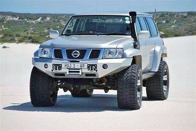 Nissan Patrol Y61sand