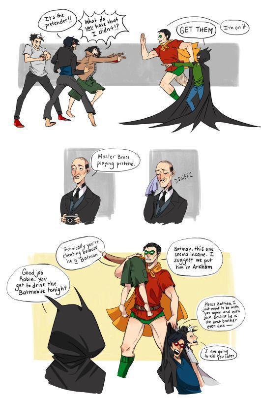 Si te gusta DC Comics y en especial Batman  Este es el lugar