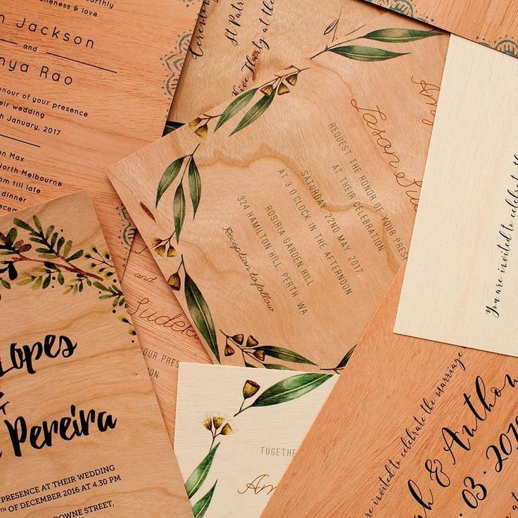 152 best illustratedhandmade design inspiration images on wooden wedding invitation designs by aussie creatives in collaboration with paperlust stationery wafer thin wooden cards stopboris Gallery