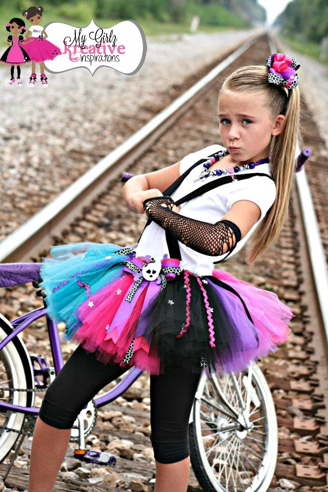 Rockstar Blues Party Rockn Skulls Tutu - Popstar Birthday Party Star Skulls and Bones Music Guitar. Kids Rockstar CostumeRockstar Girl ...  sc 1 st  Pinterest & 17 best images about halloween costumes on Pinterest