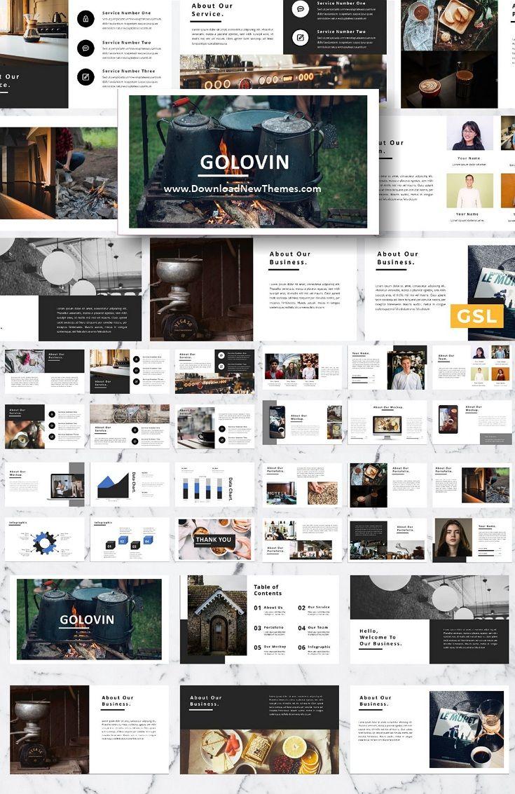 Golovin Google Slide Template In 2020 Best Presentation Templates Templates Keynote Template