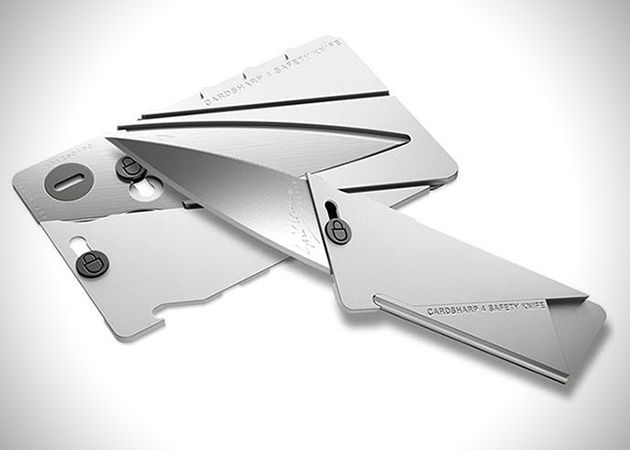 Ian Sinclair's folding credit card knife receives another iteration this year in…