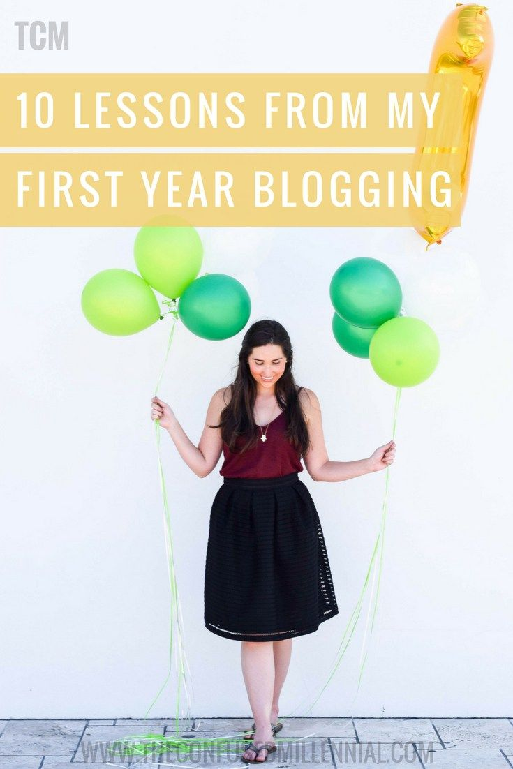 10 life lessons from my first year blogging as a millennial blogger - the confused millennial rachel ritlop