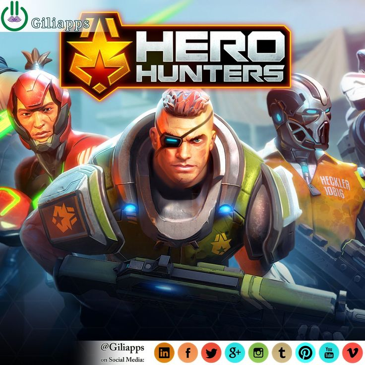 Play the campaign mode and go to war with Kurtz's army. Join an alliance, play epic co-op missions with friends and compete world-wide in real-time online PvP battles. Participate in daily events, gauntlet mode and multiplayer boss raids! ... ● Read Full Article: giliapps.com #giliapps #game #gamer #gaming #video_game #trailer #requirements #herohunters