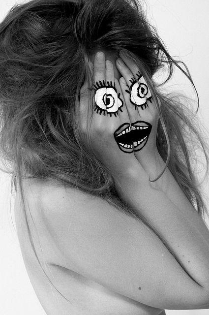 Hidden Identity - Face paint 4 | Flickr - Photo Sharing!