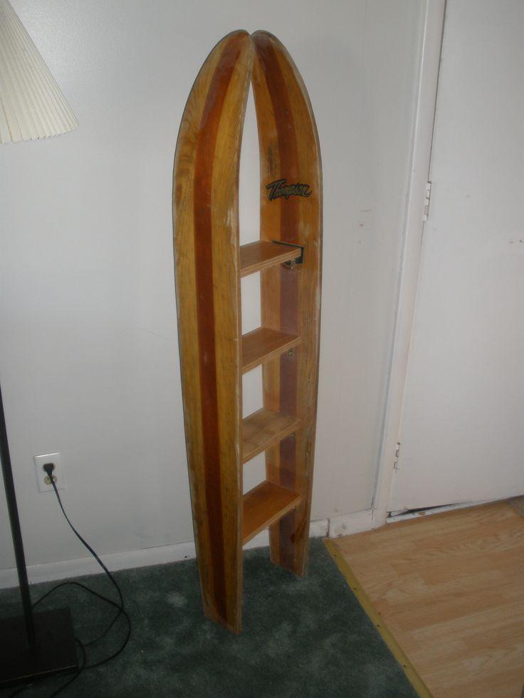 Old water ski shelf