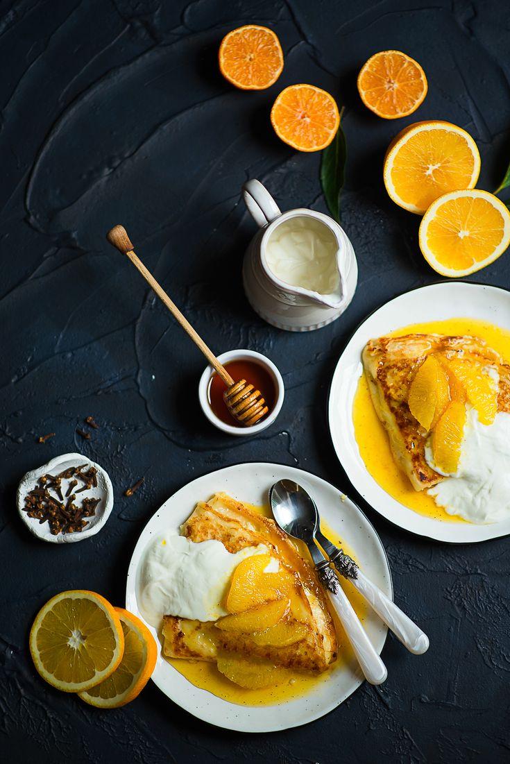 picante-jalapeno.blogspot.com: Crepes suzette - francuskie naleśniki z pomarańczami