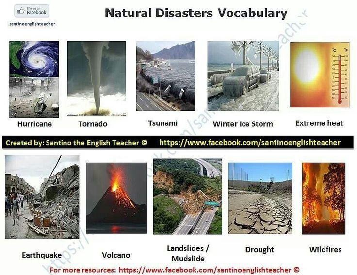 natural disasters topic