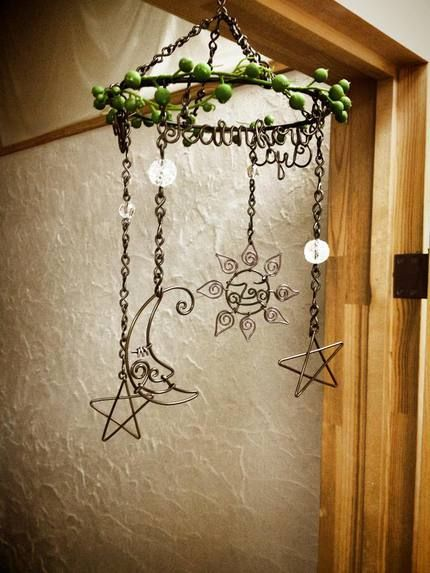 Wire Craft work  The sun and the moon and the stars