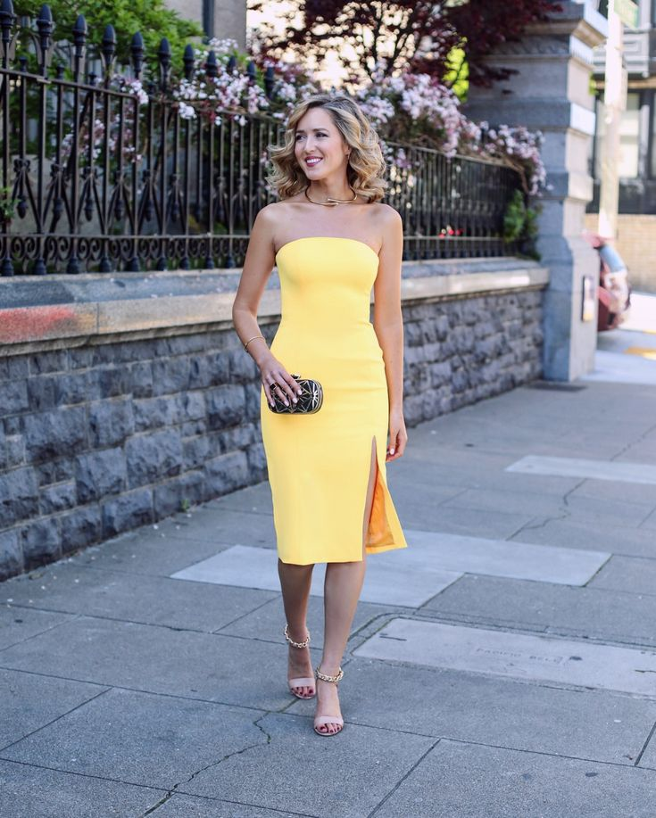 yellow dresses for a wedding fashion dresses