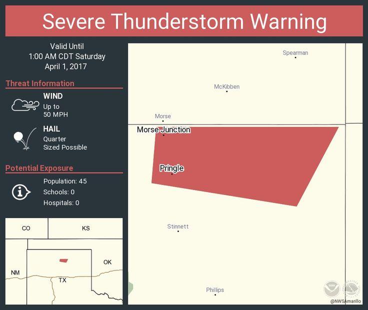 Severe Thunderstorm Warning continues for Morse Junction TX, Pringle TX until 1:00 AM CDTpic.twitter.com/KBAJjWAqX0 - https://blog.clairepeetz.com/severe-thunderstorm-warning-continues-for-morse-junction-tx-pringle-tx-until-100-am-cdtpic-twitter-comkbajjwaqx0/