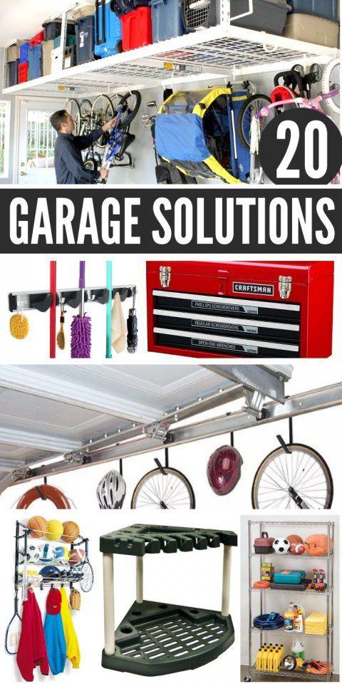 20 Garage Storage Ideas To Eliminate Clutter Garage