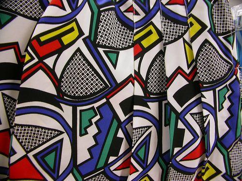 80's pattern by STILETTO NINJA, via Flickr