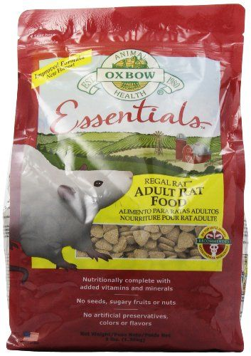 Oxbow Regal Rat Food, 3-Pound Bag