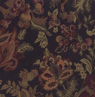 Upholstery Crypton Fabric Standard Textile Bramble Indigo Tapestry Jacobean 9.7