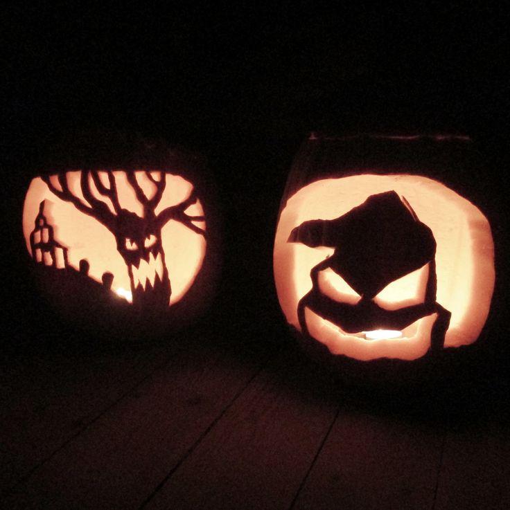 Our pumpkins Halloween 2014